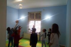 Badminton balonom